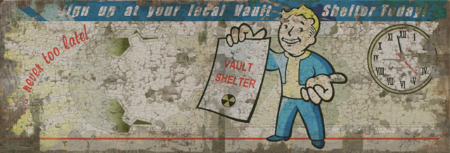 Vault-Tec Never Too Late Ad
